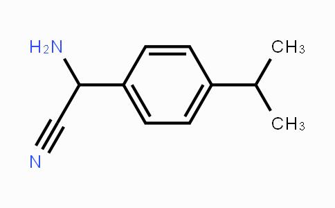 953720-06-4 | 2-amino-2-(4-isopropylphenyl)acetonitrile
