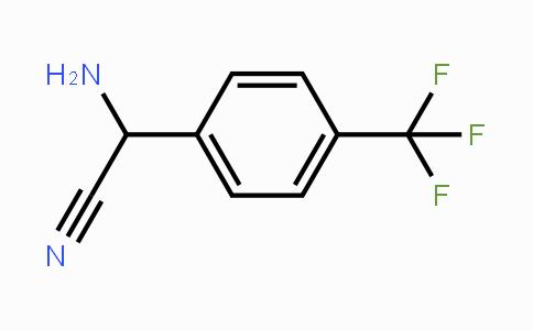 167024-67-1   2-amino-2-(4-(trifluoromethyl)phenyl)acetonitrile