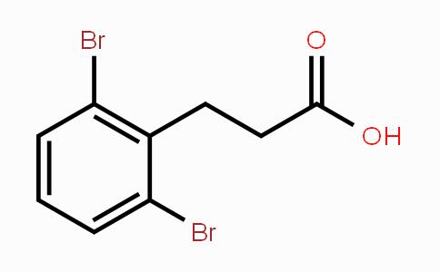 957211-37-9 | 3-(2,6-dibromophenyl)propanoic acid