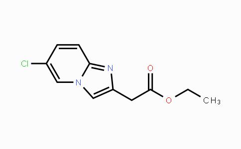 59128-02-8 | ethyl 2-(6-chloroimidazo[1,2-a]pyridin-2-yl)acetate