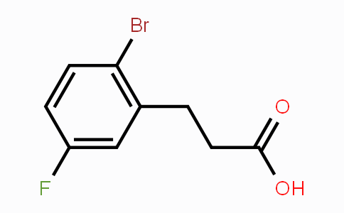1003048-71-2 | 3-(2-bromo-5-fluorophenyl)propanoic acid