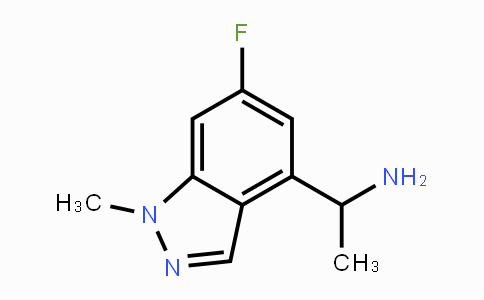 1425932-81-5 | 1-(6-fluoro-1-methyl-1H-indazol-4-yl)ethanamine