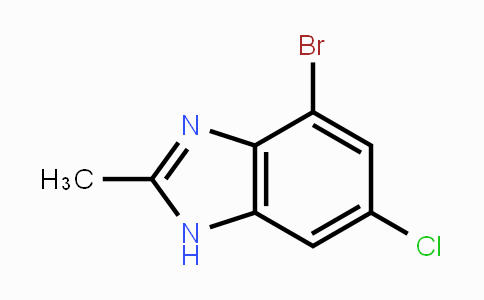 1215205-57-4 | 4-bromo-6-chloro-2-methyl-1H-benzo[d]imidazole