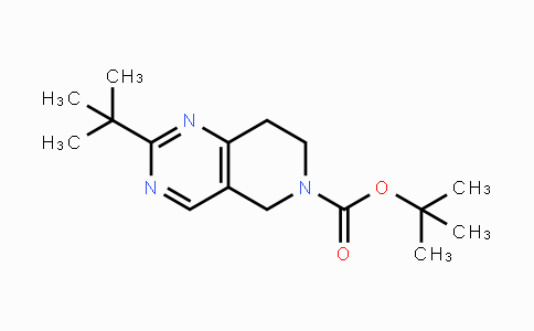 1211594-56-7   tert-butyl 2-tert-butyl-7,8-dihydropyrido[4,3-d]pyrimidine-6(5H)-carboxylate