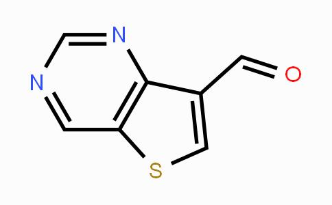 1211596-51-8 | thieno[3,2-d]pyrimidine-7-carbaldehyde