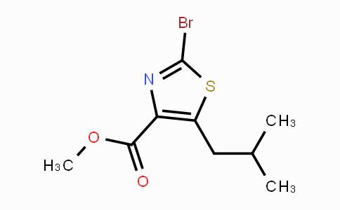 MC447567 | 910476-43-6 | methyl 2-bromo-5-isobutylthiazole-4-carboxylate