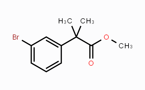 251458-15-8 | methyl 2-(3-bromophenyl)-2-methylpropanoate