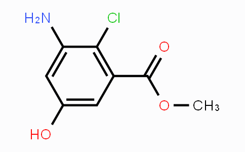 MC447583 | 93561-91-2 | methyl 3-amino-2-chloro-5-hydroxybenzoate
