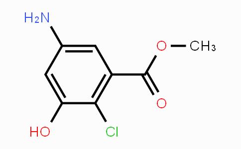 93561-92-3 | methyl 5-amino-2-chloro-3-hydroxybenzoate