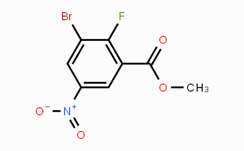 MC447585 | 885519-05-1 | methyl 3-bromo-2-fluoro-5-nitrobenzoate