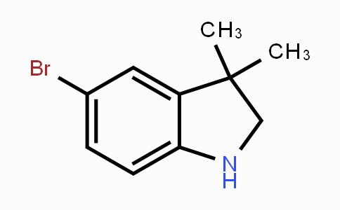 53388-86-6 | 5-bromo-3,3-dimethylindoline