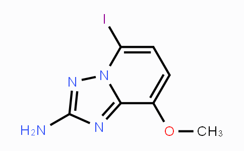 MC447604 | 492468-97-0 | 5-iodo-8-methoxy-[1,2,4]triazolo[1,5-a]pyridin-2-amine