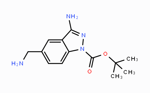 MC447606 | 871709-88-5 | tert-butyl 3-amino-5-(aminomethyl)-1H-indazole-1-carboxylate