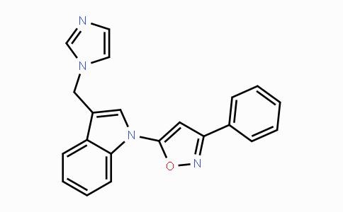 DY447666 | 137187-90-7 | 5-(3-((1H-imidazol-1-yl)methyl)-1H-indol-1-yl)-3-phenylisoxazole