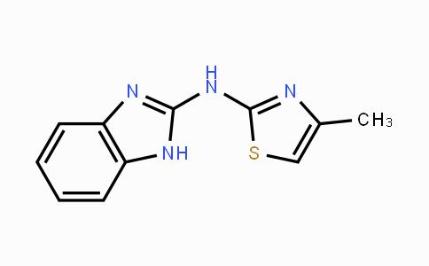 DY447671 | 61690-05-9 | N-(1H-benzo[d]imidazol-2-yl)-4-methylthiazol-2-amine