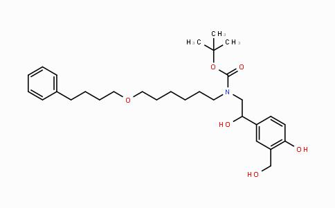 917480-05-8 | tert-butyl 2-hydroxy-2-(4-hydroxy-3-(hydroxymethyl)phenyl)ethyl(6-(4-phenylbutoxy)hexyl)carbamate