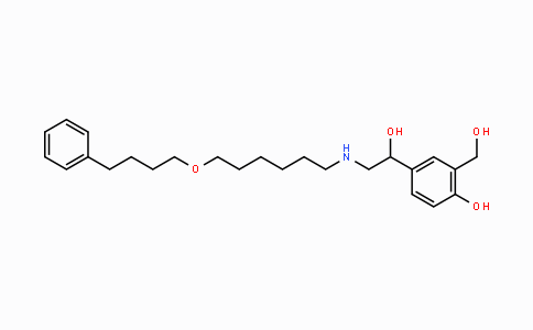 MC447694 | 89365-50-4 | 4-(1-hydroxy-2-(6-(4-phenylbutoxy)hexylamino)ethyl)-2-(hydroxymethyl)phenol