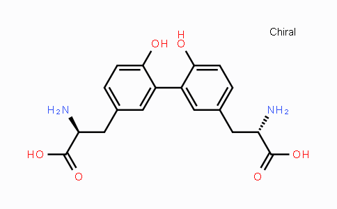 DY447698 | 221308-01-6 | (2S,2'S)-3,3'-(6,6'-dihydroxybiphenyl-3,3'-diyl)bis(2-aminopropanoic acid)