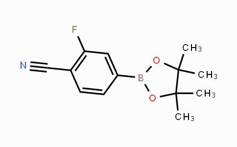 870238-67-8 | 2-fluoro-4-(4,4,5,5-tetramethyl-1,3,2-dioxaborolan-2-yl)benzonitrile