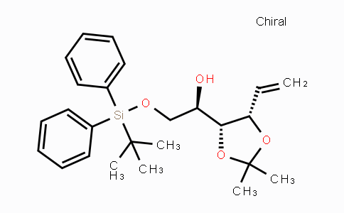 DY447712 | 681853-93-0 | (R)-2-(tert-butyldiphenylsilyloxy)-1-((4R,5S)-2,2-dimethyl-5-vinyl-1,3-dioxolan-4-yl)ethanol