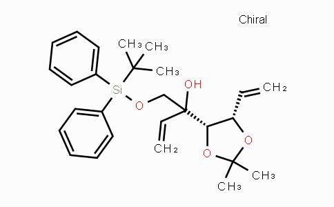 DY447714 | 902799-70-6 | 1-(tert-butyldiphenylsilyloxy)-2-((4S,5S)-2,2-dimethyl-5-vinyl-1,3-dioxolan-4-yl)but-3-en-2-ol