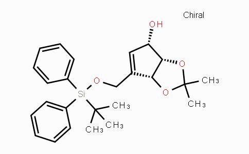 DY447716 | 303963-93-1 | (3aS,4S,6aR)-6-((tert-butyldiphenylsilyloxy)methyl)-2,2-dimethyl-4,6a-dihydro-3aH-cyclopenta[d][1,3]dioxol-4-ol