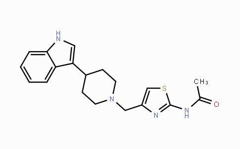 DY447751 | 111622-09-4 | N-(4-((4-(1H-indol-3-yl)piperidin-1-yl)methyl)thiazol-2-yl)acetamide
