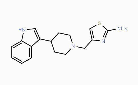 DY447752 | 111622-08-3 | 4-((4-(1H-indol-3-yl)piperidin-1-yl)methyl)thiazol-2-amine