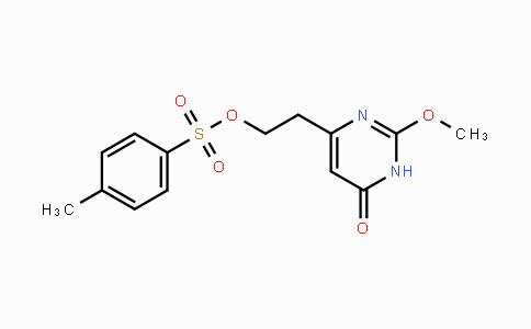 447457-32-1 | 2-(2-methoxy-6-oxo-1,6-dihydropyrimidin-4-yl)ethyl 4-methylbenzenesulfonate
