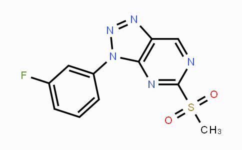 MC447851 | 840537-45-3 | 3-(3-fluorophenyl)-5-(methylsulfonyl)-3H-[1,2,3]triazolo[4,5-d]pyrimidine