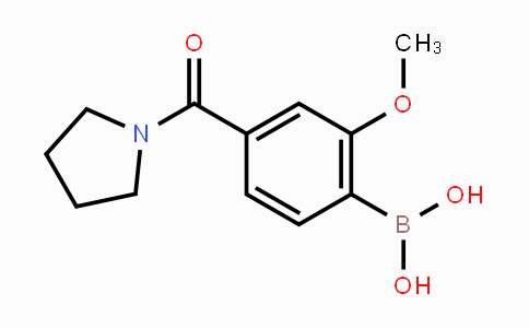DY447894 | 4-(Pyrrolidine-1-carbonyl)-2-methoxyphenylboronic acid