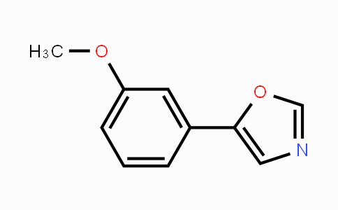 848608-55-9 | 5-(3-Methoxyphenyl)-1,3-oxazole