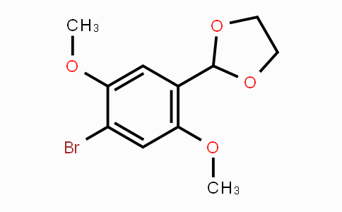 MC447953 | 681171-32-4 | 2-(4-Bromo-2,5-dimethoxyphenyl)-1,3-dioxolane