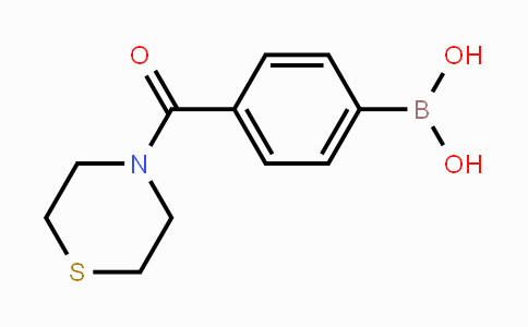 850568-28-4 | 4-(Thiomorpholine-4-carbonyl)phenylboronic acid