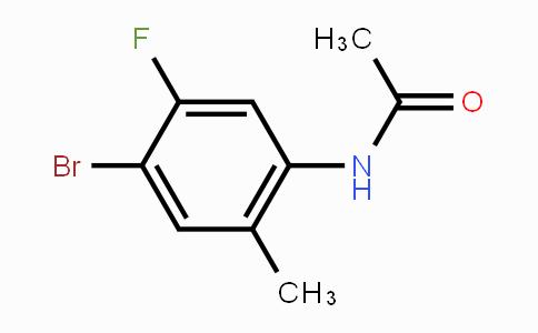 MC447970 | 633335-80-5 | N-(4-Bromo-5-fluoro-2-methylphenyl)acetamide