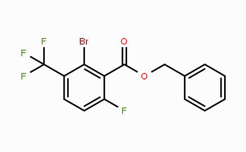 Benzyl 2-bromo-6-fluoro-3-(trifluoromethyl)benzoate