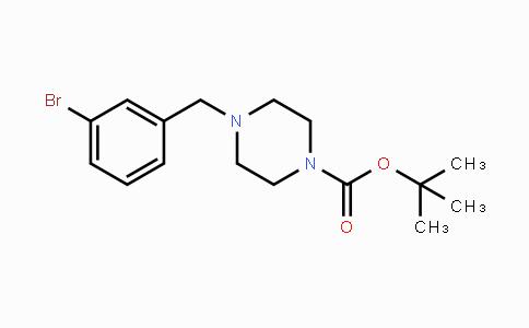 MC448050 | 865314-27-8 | tert-Butyl 4-(3-bromobenzyl)-1-piperazinecarboxylate