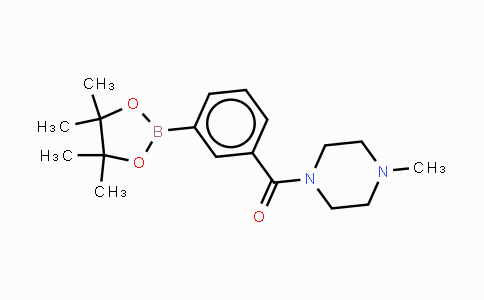 DY448276 | 883738-38-3 | 3-(4-Methylpiperazine-1-carbonyl)phenylboronic acid, pinacol ester