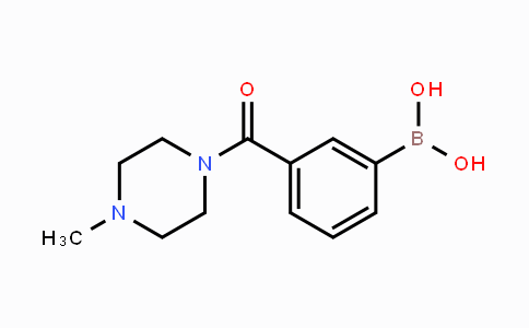 DY448277 | 957103-93-4 | [3-(4-Methylpiperazine-1-carbonyl)phenyl]boronic acid