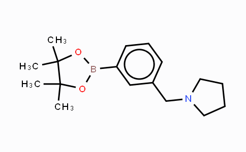 CAS No. 884507-45-3, 3-(Pyrrolidinomethyl)phenylboronic acid, pinacol ester