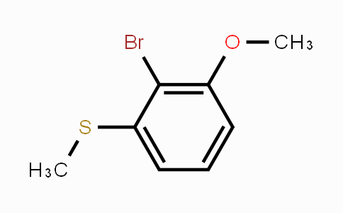 MC448339 | 67853-40-1 | 2-Bromo-1-methoxy-3-(methylsulfanyl)benzene