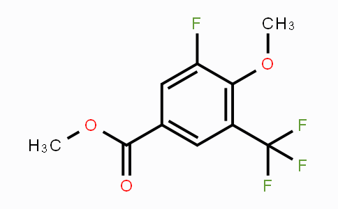 MC448361 | 2244107-69-3 | Methyl 5-Fluoro-4-methoxy-3-(trifluoromethyl)benzoate