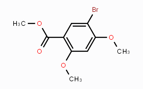 39503-51-0 | Methyl 5-bromo-2,4-dimethoxybenzoate