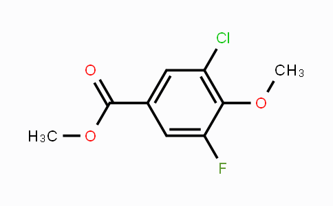 MC448377 | 1520844-29-4 | Methyl 3-chloro-5-fluoro-4-methoxybenzoate