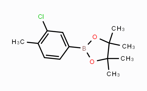445303-10-6 | 3-Chloro-4-methylphenylboronic acid pinacol ester