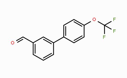 675596-34-6 | 4'-Trifluoromethoxy-biphenyl-3-carbaldehyde