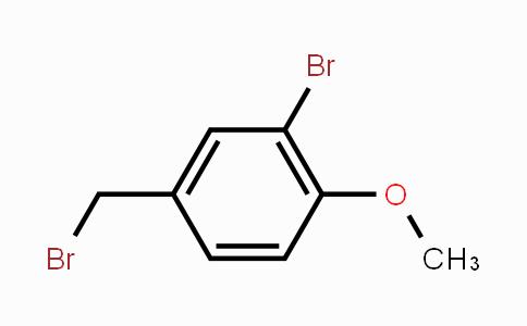 MC448447 | 89978-72-3 | 2-Bromo-4-(bromomethyl)-1-methoxybenzene
