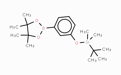 DY448461 | 902120-00-7 | 3-(T-BUTYLDIMETHYLSILYLOXY)PHENYLBORONIC ACID, PINACOL ESTER