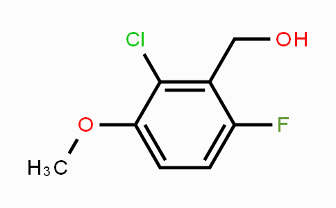 886499-49-6 | 2-Chloro-6-fluoro-3-methoxybenzyl alcohol