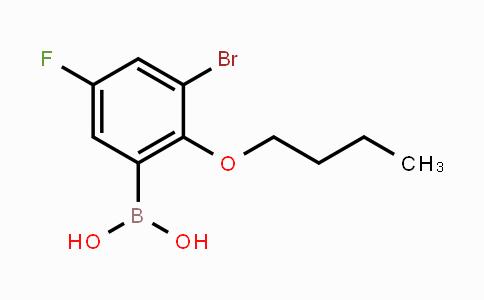 352534-85-1 | 3-Bromo-2-butoxy-5-fluorophenylboronic acid